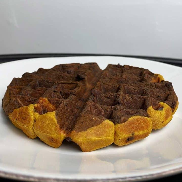 Protein Brookie Waffles