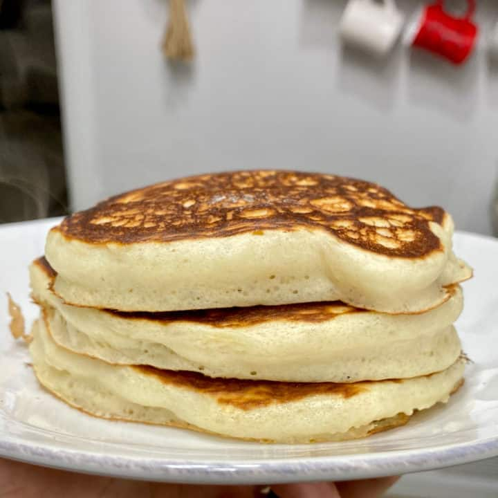 Fluffy Protein Pancakes