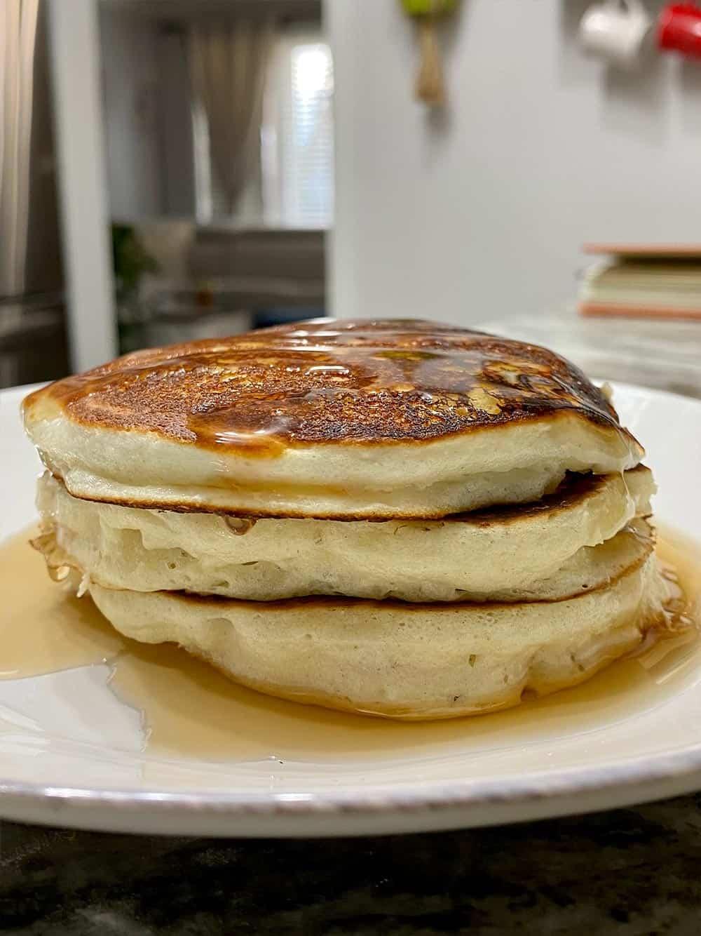 2 ingredient protein pancakes